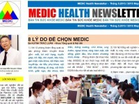 Ngày 02-06-2015, Bản tin MEDIC Health Newsletter THÁNG 5 (full text)