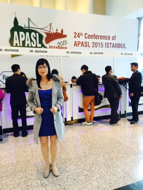 bs thu thuy tham gia 24th Conference of the Asian Pacific Associaton for the Study of the Liver
