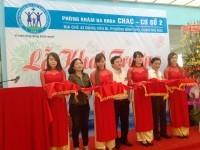 Ngày 29/01/2015, Khai trương Phòng khám Đa khoa CHAC cơ sở 2