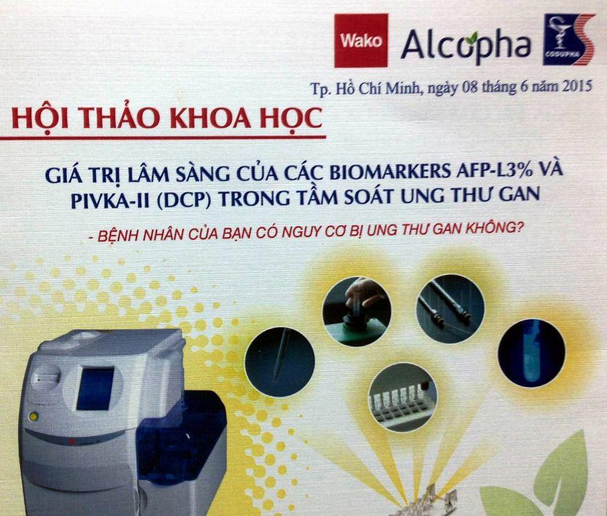 tai KS Nikko Saigon Hoi thao khoa hoc Gia tri lam sang cua cac Biomarkers