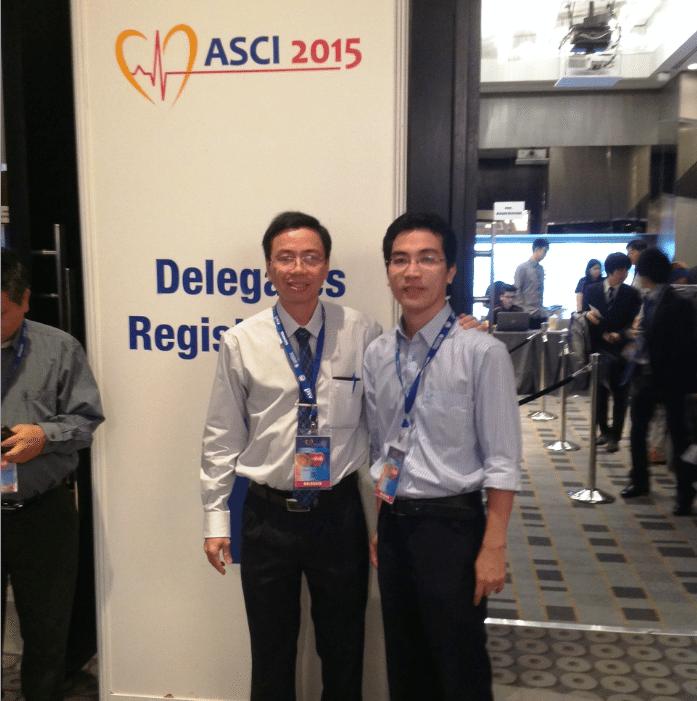 tai Malaysia ASCI 2015 Bs Duong Phi Son va Bs Nguyen Xuan Trinh tham du