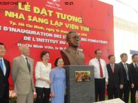 Ngày 16/10/2016, tại Viện Tim TPHCM, Lễ đặt tượng nhà sáng lập Viện Tim
