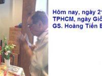 21/01/2017, tại TPHCM, ngày Giỗ của GS.Hoàng Tiến Bảo.